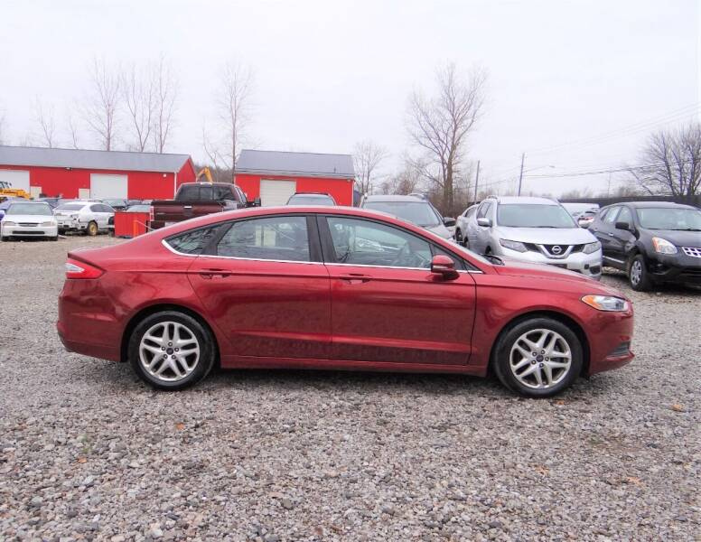 2016 Ford Fusion for sale at Premier Auto & Parts in Elyria OH