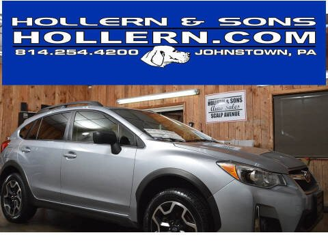 2016 Subaru Crosstrek for sale at Hollern & Sons Auto Sales in Johnstown PA