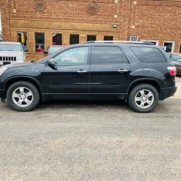 2011 GMC Acadia for sale at Car Corral in Tyler MN