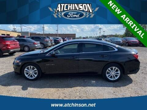 2018 Chevrolet Malibu for sale at Atchinson Ford Sales Inc in Belleville MI