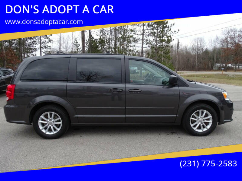 2016 Dodge Grand Caravan for sale at DON'S ADOPT A CAR in Cadillac MI