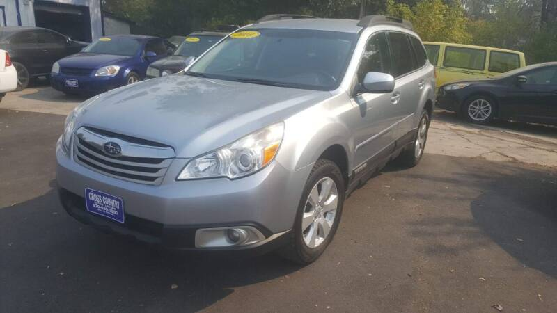 2012 Subaru Outback for sale at Cross Country Motors in Loveland CO