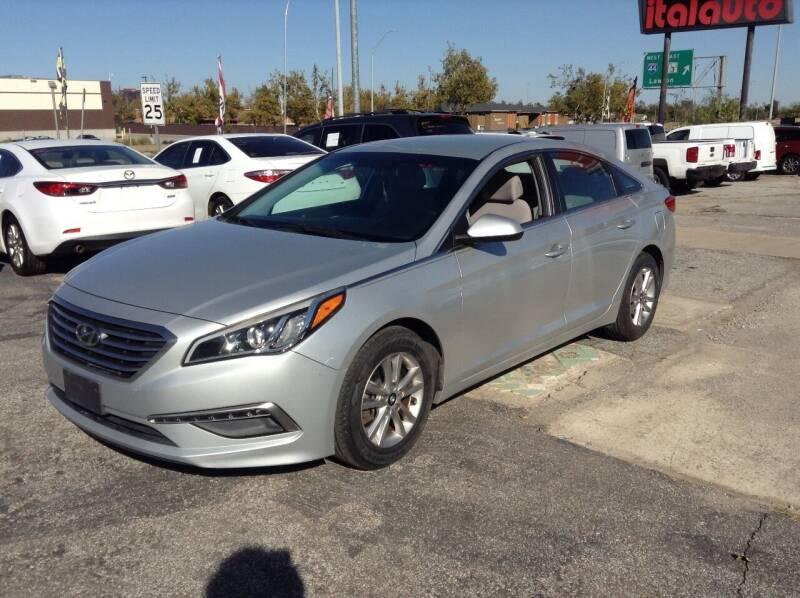 2015 Hyundai Sonata for sale at Ital Auto in Oklahoma City OK