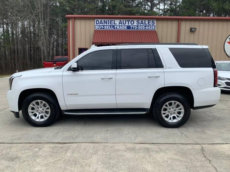 2016 GMC Yukon for sale at Daniel Used Auto Sales in Dallas GA