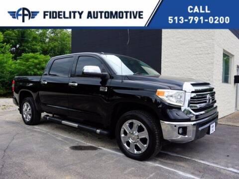 2016 Toyota Tundra for sale at Fidelity Automotive LLC in Cincinnati OH