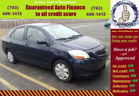 2007 Toyota Yaris for sale at Capital Fleet  & Remarketing  Auto Finance in Columbia Heights MN