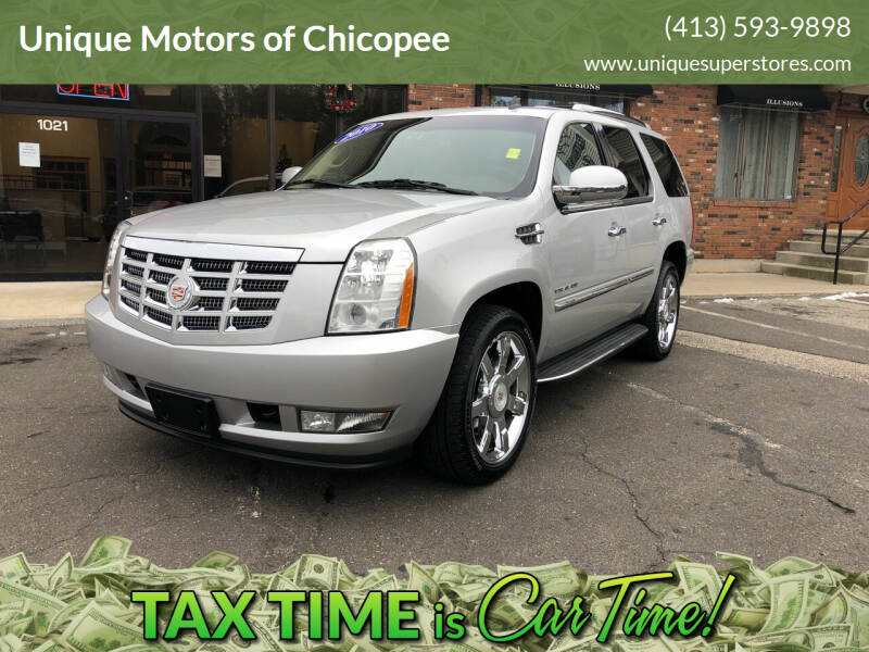 2010 Cadillac Escalade for sale at Unique Motors of Chicopee in Chicopee MA