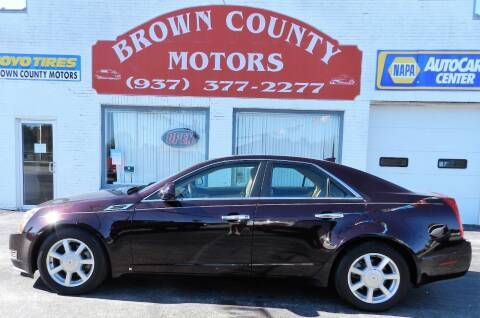 2009 Cadillac CTS for sale at Brown County Motors in Russellville OH