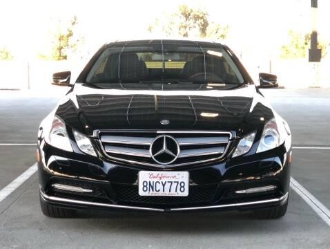 2013 Mercedes-Benz E-Class for sale at OPTED MOTORS in Santa Clara CA