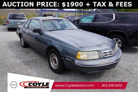 1988 Ford Thunderbird for sale at COYLE GM - COYLE NISSAN - Coyle Nissan in Clarksville IN