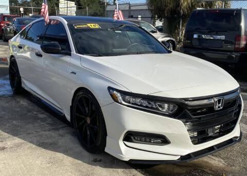 2018 Honda Accord for sale at CAR VIPS ORLANDO LLC in Orlando FL