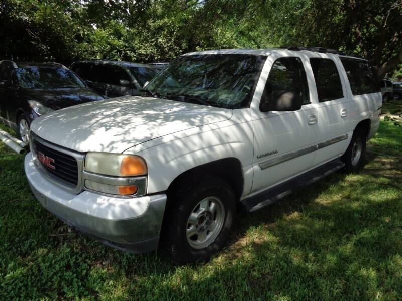 2001 GMC Yukon XL for sale at SCOTT HARRISON MOTOR CO in Houston TX