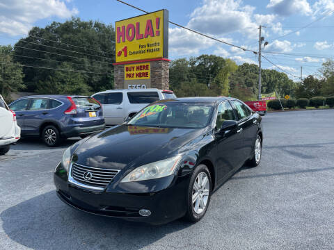 2009 Lexus ES 350 for sale at No Full Coverage Auto Sales in Austell GA