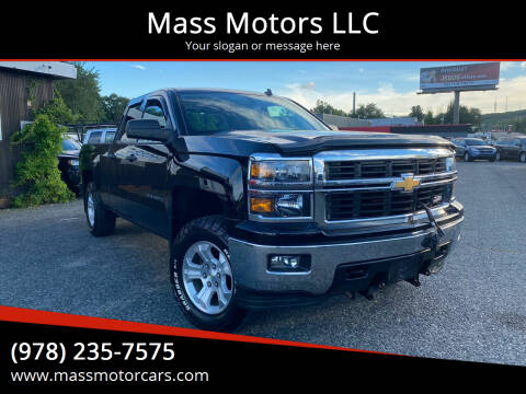 2014 Chevrolet Silverado 1500 for sale at Mass Motors LLC in Worcester MA