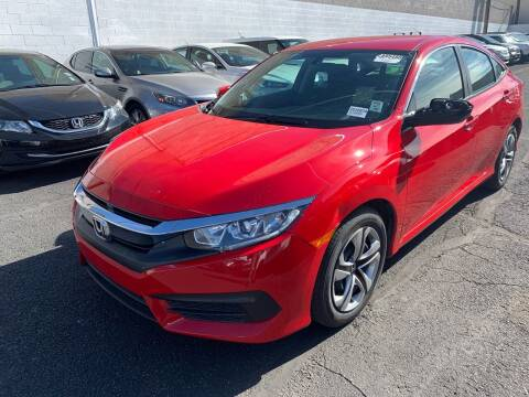 2017 Honda Civic for sale at Auto Center Of Las Vegas in Las Vegas NV