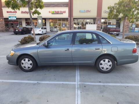 2003 Toyota Avalon for sale at RN AUTO GROUP in San Bernardino CA