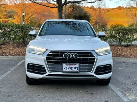2018 Audi Q5 for sale at CARFORNIA SOLUTIONS in Hayward CA
