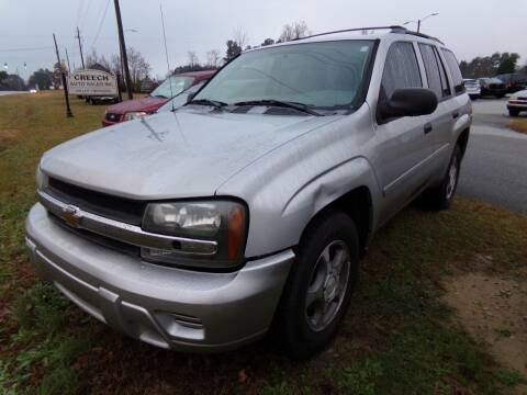 2007 Chevrolet TrailBlazer for sale at Creech Auto Sales in Garner NC
