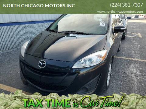 2015 Mazda MAZDA5 for sale at NORTH CHICAGO MOTORS INC in North Chicago IL