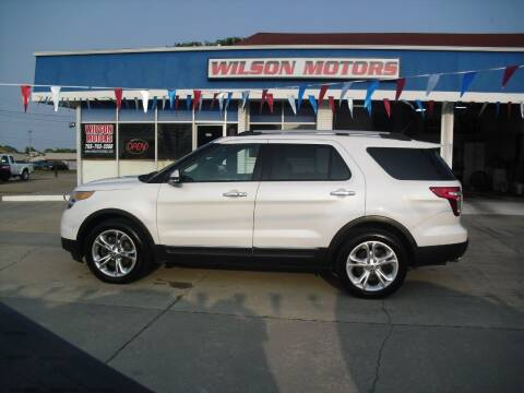2013 Ford Explorer for sale at Wilson Motors in Junction City KS