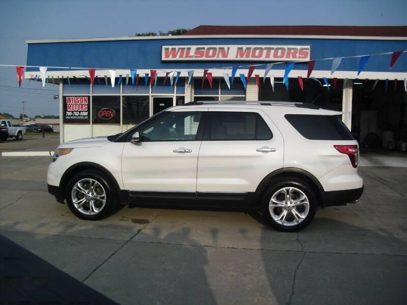 2013 Ford Explorer for sale at Wilson Motors in Junction City KS