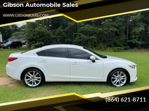 2014 Mazda MAZDA6 for sale at Gibson Automobile Sales in Spartanburg SC