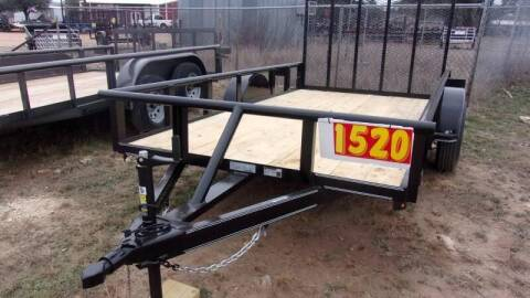 2020 VAR Trailers 6' X 12' SINGLE AXLE for sale at LJD Sales in Lampasas TX