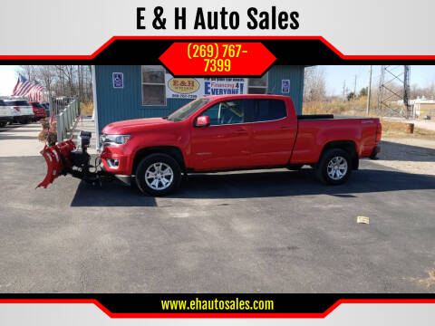 2017 Chevrolet Colorado for sale at E & H Auto Sales in South Haven MI