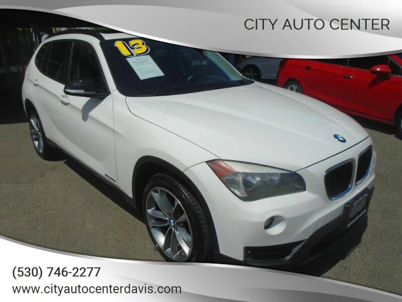 2013 BMW X1 for sale at City Auto Center in Davis CA