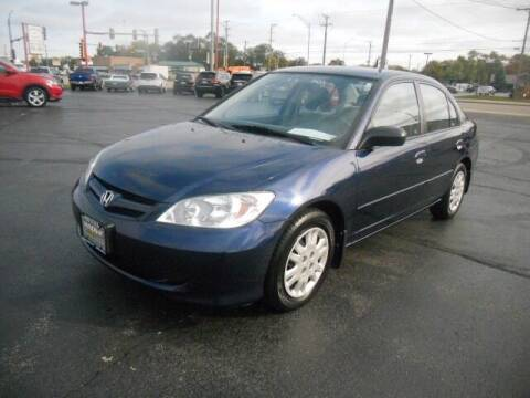 2005 Honda Civic for sale at Windsor Auto Sales in Loves Park IL