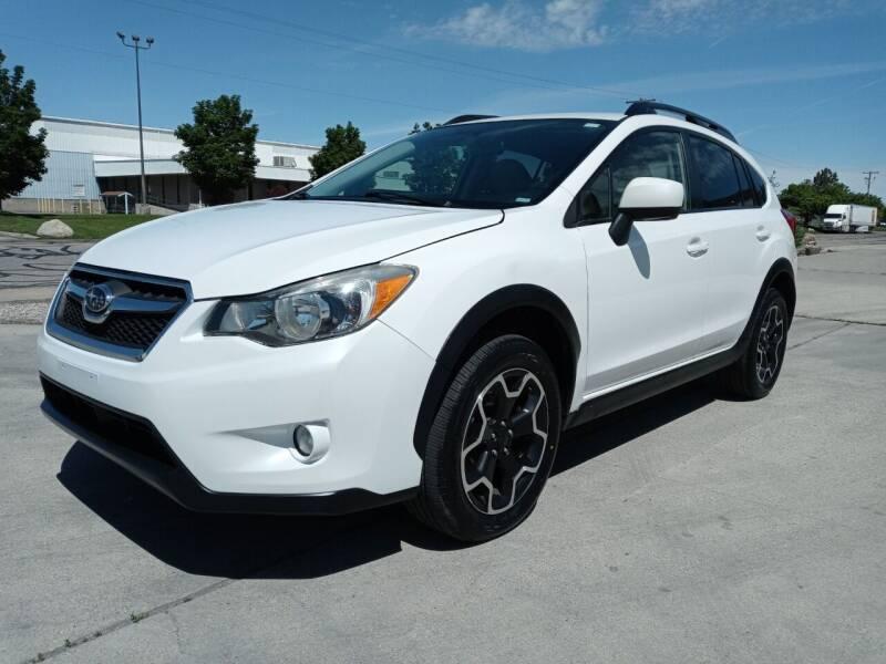 2014 Subaru XV Crosstrek for sale at AUTOMOTIVE SOLUTIONS in Salt Lake City UT