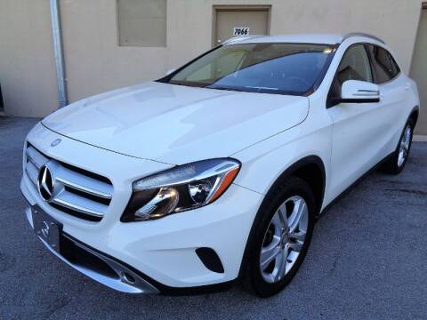 2015 Mercedes-Benz GLA for sale at Selective Motor Cars in Miami FL
