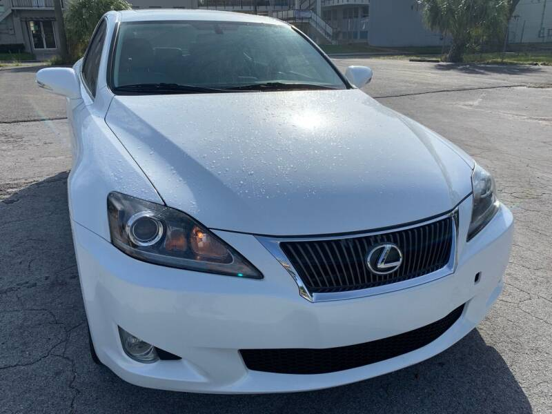 2010 Lexus IS 250 for sale at Consumer Auto Credit in Tampa FL