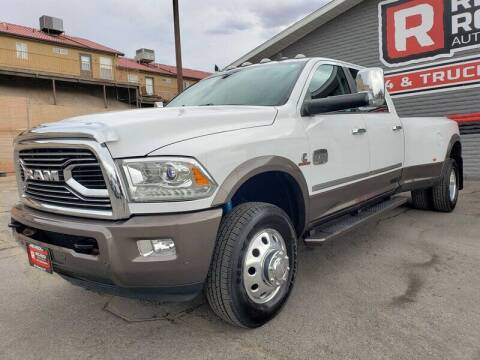2017 RAM Ram Pickup 3500 for sale at Red Rock Auto Sales in Saint George UT
