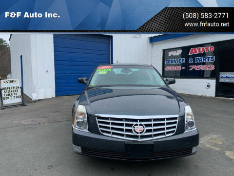 2011 Cadillac DTS for sale at F&F Auto Inc. in West Bridgewater MA