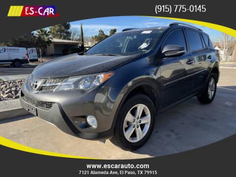 2014 Toyota RAV4 for sale at Escar Auto in El Paso TX