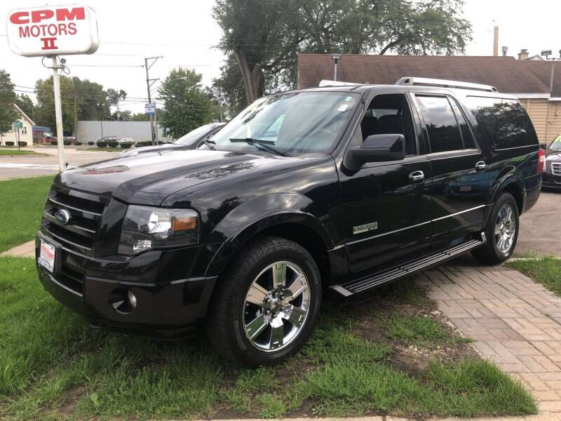 2007 Ford Expedition EL for sale at CPM Motors Inc in Elgin IL