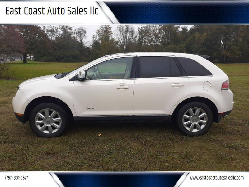 2007 Lincoln MKX for sale at East Coast Auto Sales llc in Virginia Beach VA