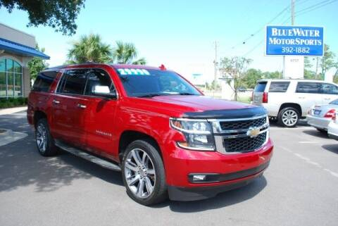 2015 Chevrolet Suburban for sale at BlueWater MotorSports in Wilmington NC