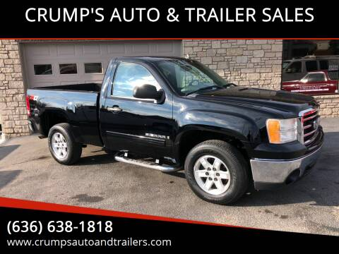 2008 GMC Sierra 1500 for sale at CRUMP'S AUTO & TRAILER SALES in Crystal City MO