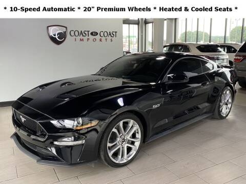 2019 Ford Mustang for sale at Coast to Coast Imports in Fishers IN