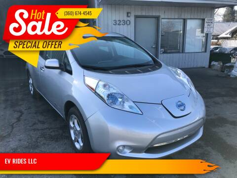 2014 Nissan LEAF for sale at EV RIDES LLC in Portland OR