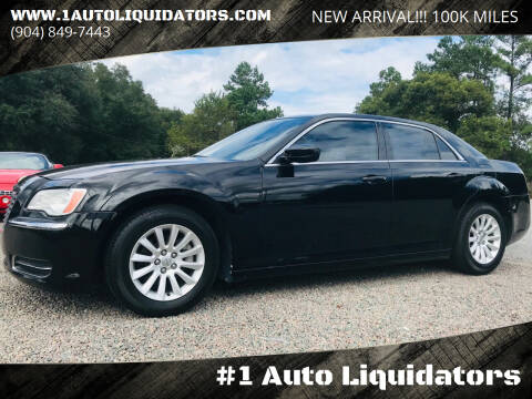 2013 Chrysler 300 for sale at #1 Auto Liquidators in Yulee FL