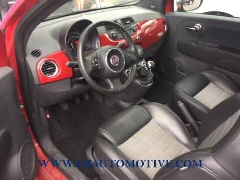 2012 FIAT 500 for sale at J & M Automotive in Naugatuck CT