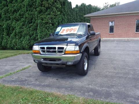 2000 Ford Ranger for sale at Dun Rite Car Sales in Downingtown PA