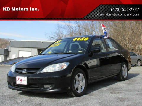 2005 Honda Civic for sale at KB Motors Inc. in Bristol VA