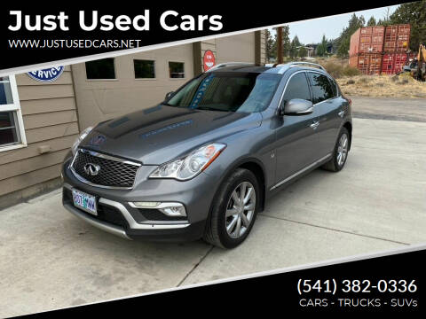 2016 Infiniti QX50 for sale at Just Used Cars in Bend OR