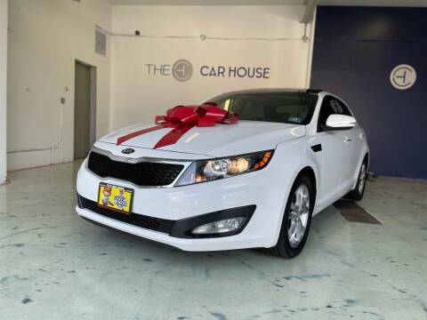 2013 Kia Optima for sale at The Car House of Garfield in Garfield NJ