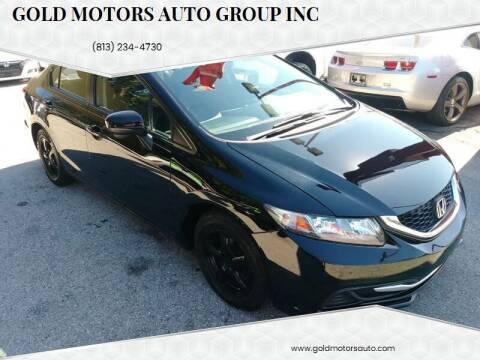 2015 Honda Civic for sale at Gold Motors Auto Group Inc in Tampa FL