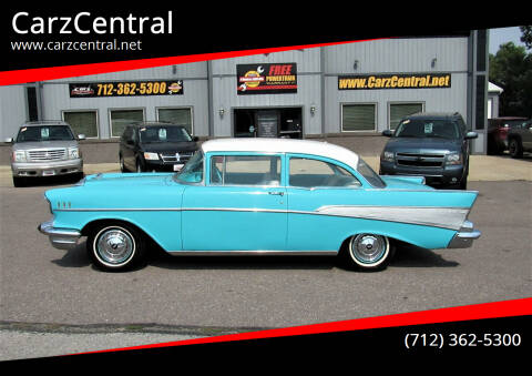 1957 Chevrolet Bel Air for sale at CarzCentral in Estherville IA
